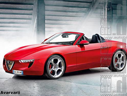 Futur Alfa Romeo Spider: tout change!