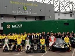 (Echos des paddocks #81) Lotus partenaire d'un club de foot...