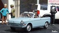 Miniature : 1/43ème - BMW 700 cabriolet