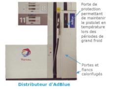 Total ou le bleu d'enfer : l'additif AdBlue extermine une partie de la pollution des poids lourds !