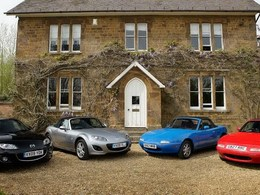 100 000 Mazda MX-5 au Royaume-Uni