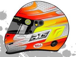 Nouveau casque pour Romain Grosjean