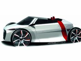 Salon de Francfort 2011 - L'Audi Urban Concept se découvre déjà!