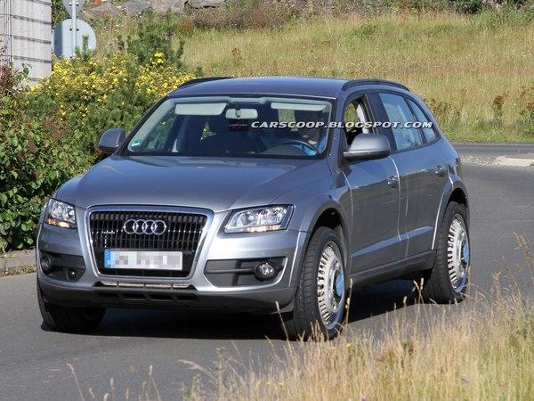 Surprise : un prototype d'Audi Q6 se promène