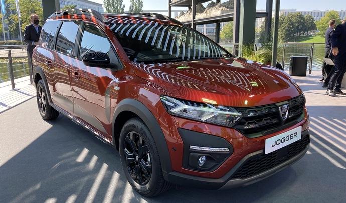 Dacia Jogger (2021) : le break qui casse les prix - En direct du salon de Munich 2021