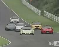 Lamborghini LP640 sur circuit : elle marche fort, mais pas longtemps !