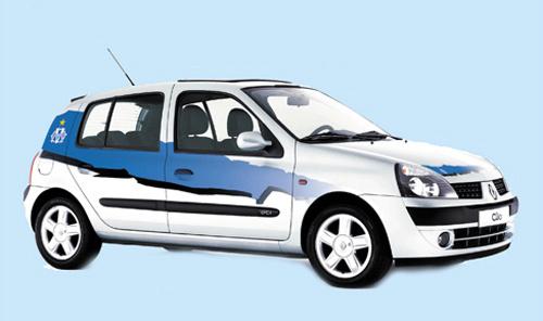 Unique dans le Sud Est : une Clio OM