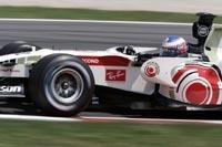 GP des Etats-Unis : Anthony Davidson devance Michael Schumacher lors de la première séance des essais libres