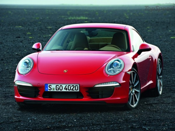 Surprise (grosse) : voici la Porsche 911 type 991