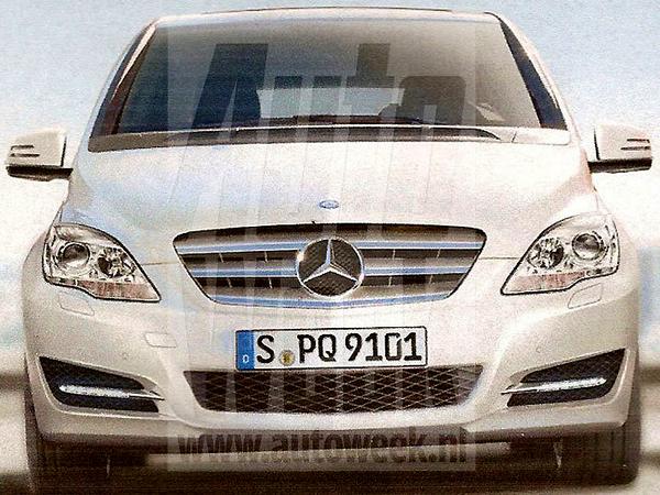 Future Mercedes Classe B : voilà son visage