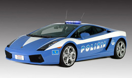 Une Lamborghini Gallardo pour la police italienne