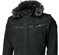 IXS New York: manteau long pour ceux qui roulent en ville.