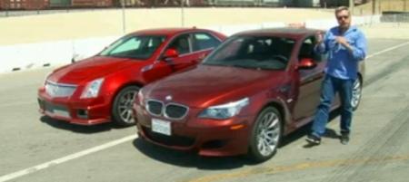 [vidéo] BMW M5 vs Cadillac CTS-V : quelle est la meilleure?