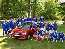 Citroën, partenaire des Bleus de l'équipe de France de foot pour 4 ans