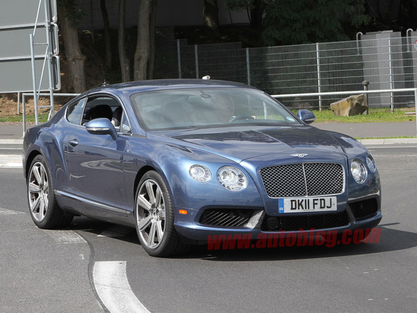 Surprise : la nouvelle Bentley Continental GT Speed