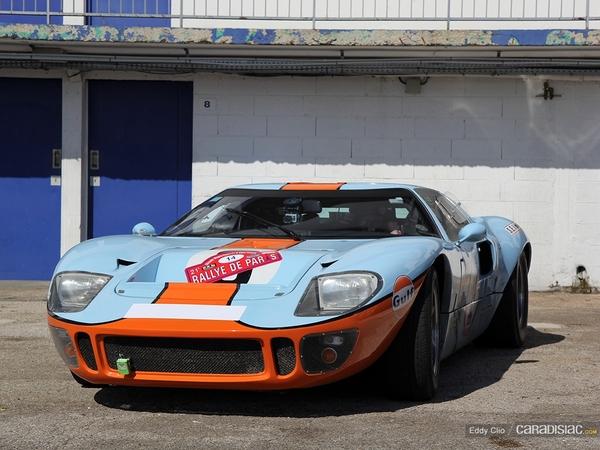 Photos du jour : Ford GT40 (Rallye de Paris)