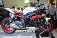 En direct d'Intermot - Triumph Street Triple RX : super Street