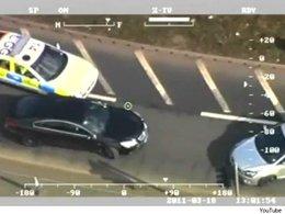 [vidéo] Il prend l'autoroute à contresens pour échapper à la police