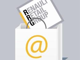 Le site internet du réseau Renault  se développe