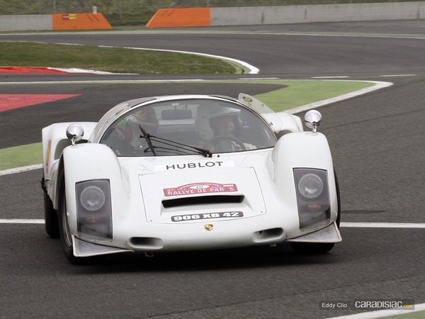 Photos du jour : Porsche 906 (Rallye de Paris)