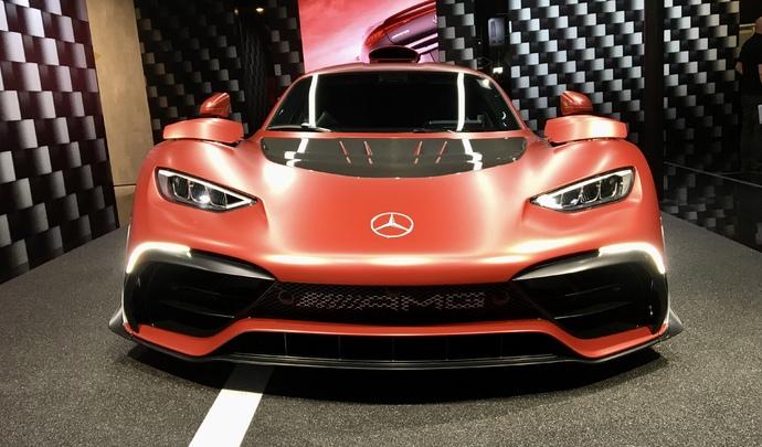 Mercedes AMG One : la voiture alpha - Vidéo en direct du Salon de Munich 2021