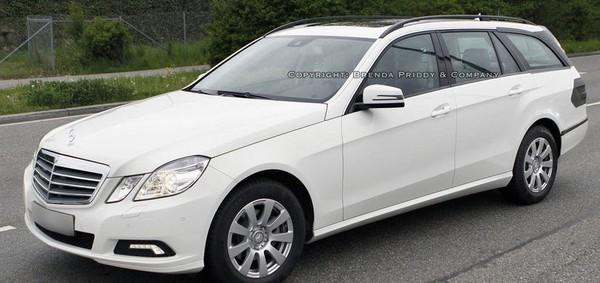 Spyshot : la Mercedes Classe E break arrive