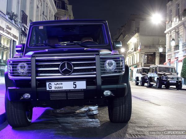 Photos du jour : Mercedes Classe G55 AMG