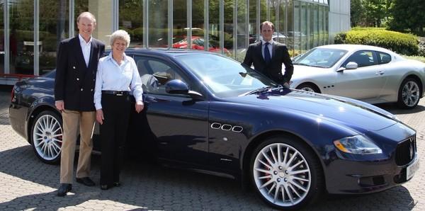 La millième Maserati Quattroporte vendue en Angleterre