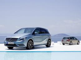 Le Mercedes Classe B 180 CDI élu taxi de l'année