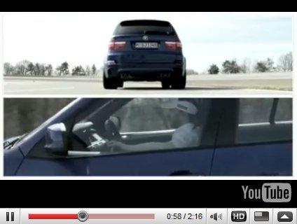 [vidéo] : le petit Nick Heidfeld fait la promo du gros BMW X5M