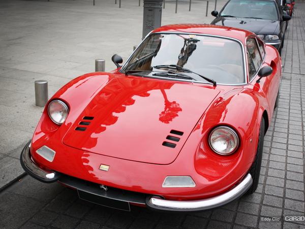 Photos du jour : Ferrari 246 Dino