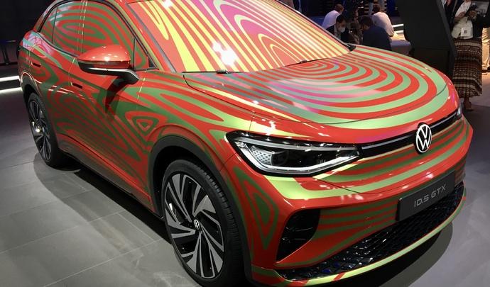 Volkswagen ID.5 GTX: 299 chevaux électriques pour le SUV coupé - En direct du Salon de Munich 2021