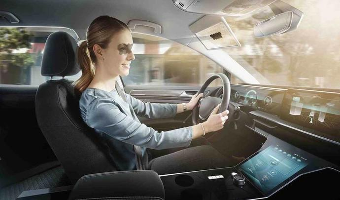 CES 2020 : Bosch présente le pare-soleil de demain