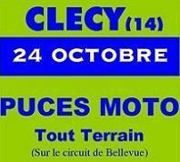 Puce moto tout terrain à Clécy au coeur de la Suisse Normande à 30 kms de Caen, dimanche