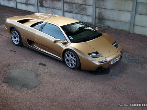 Photos du jour : Lamborghini Diablo VT 6.0 (Le Mans Classic)