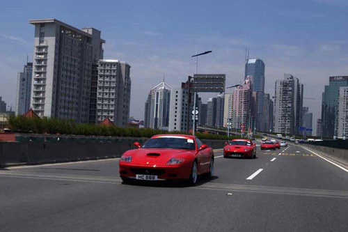 Ferrari inaugure son premier showroom en Chine