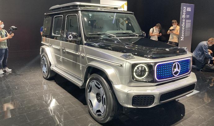 Mercedes EQG Concept : Terminator a été entendu - Vidéo en direct du Salon de Munich 2021