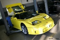 Photos du jour : Bugatti EB110 S