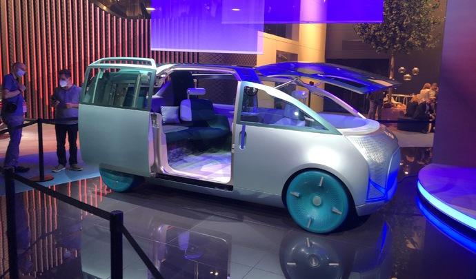 Mini Urbanaut Vision concept : le lounge mobile - En direct du Salon de Munich 2021
