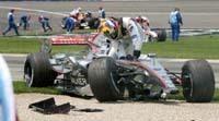 McLaren Mercedes : Impair passe et manque