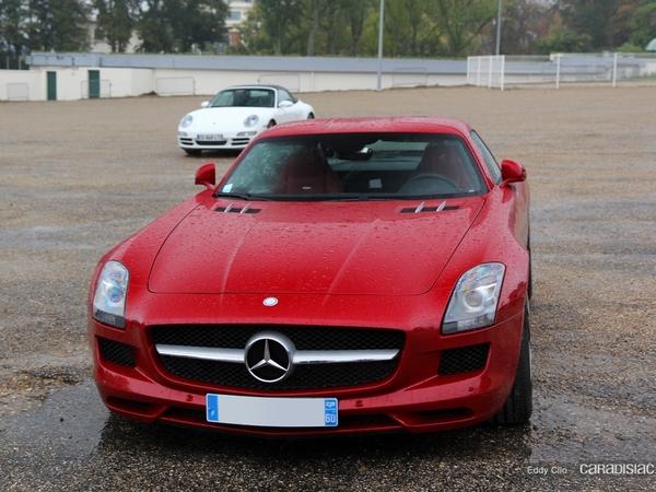Photos du jour : Mercedes SLS AMG (Cars & Coffee Paris)