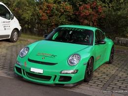 Photos du jour : Porsche 911 997 GT3 RS Sportec (Nürburgring)