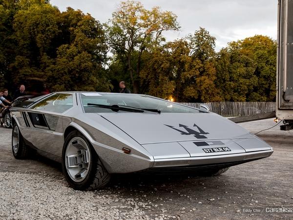 Photos du jour : Maserati Boomerang (Concours d'Elegance de Chantilly)