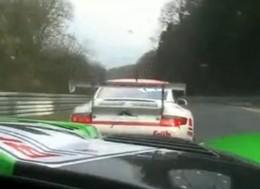 vidéo : Porsche GT3 vs Viper GT3 au ring', la bourre de l'année?