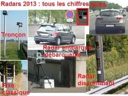 Où les radars flashent-ils le plus : le détail région par région