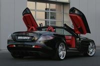 Essen Motorshow : Mercedes SLR McLaren Roadster by Brabus