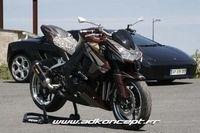 Kawasaki Z1000 Snake by AD Koncept : Full Rizoma !!
