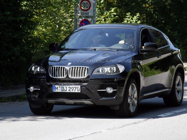 Le futur BMW X6 s'est fait surprendre à Munich