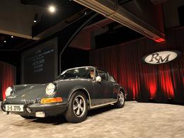 La Porsche 911S de 1970 de Steve McQueen s'est vendue 1,25 millions de dollars