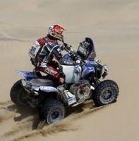 Dakar 2013 : Etape 2 quad, Patronelli  en tête et Laskawiec  distancé